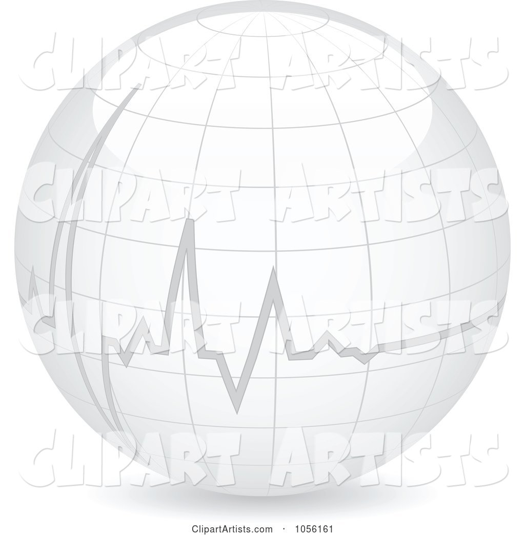 Heart Beat on a Globe