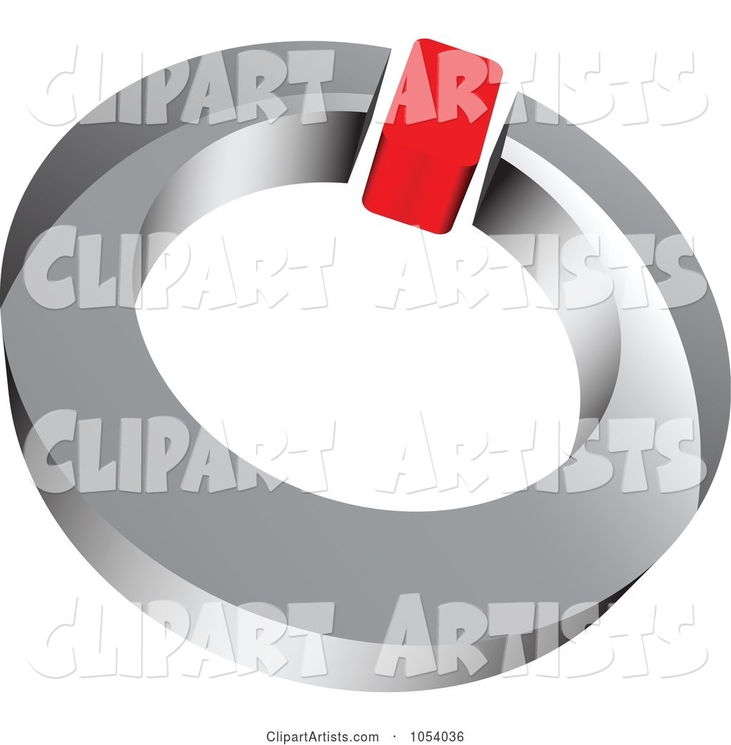 Red and Silver Ring Logo