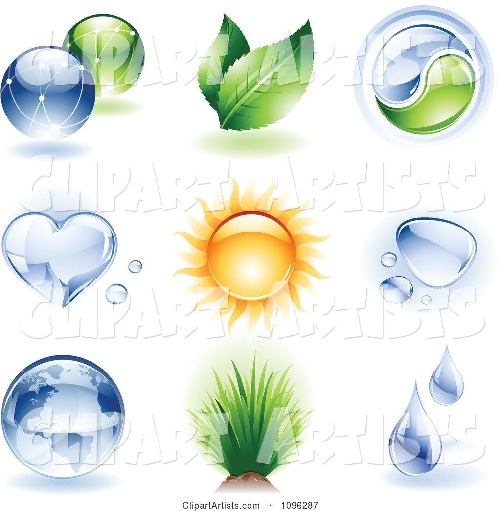 Shiny Ecology and Nature Icons