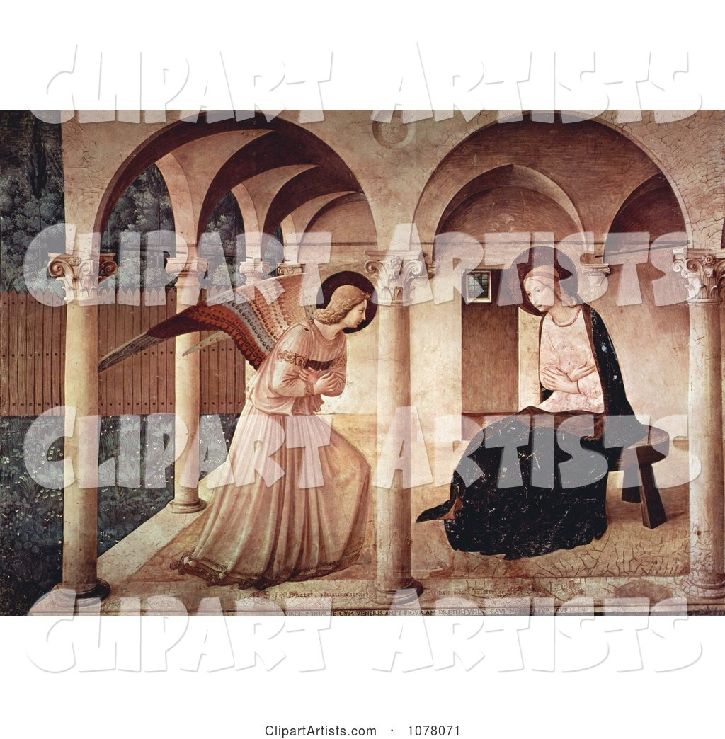 The Annunciation, Mary Mother of Jesus and Archangel Gabriel