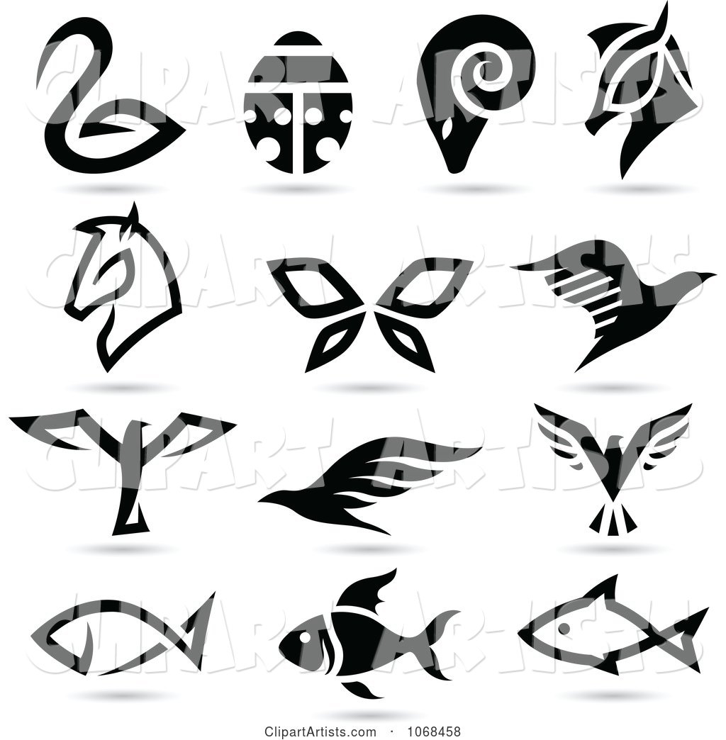 Animal Logo Icons 3
