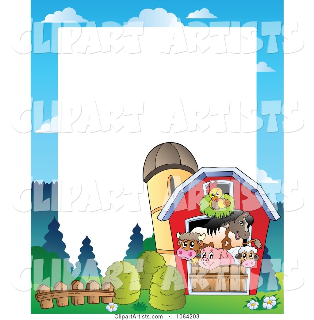 Barnyard Animal Frame 2