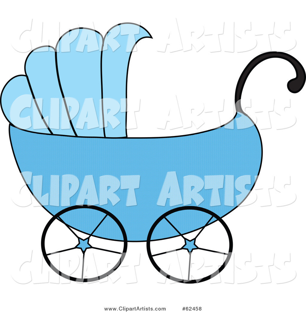 Blue Boy Baby Carriage