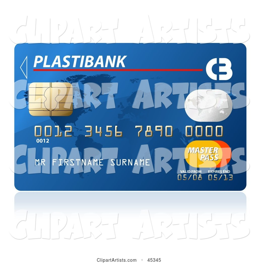 Blue Plastibank Credit Card