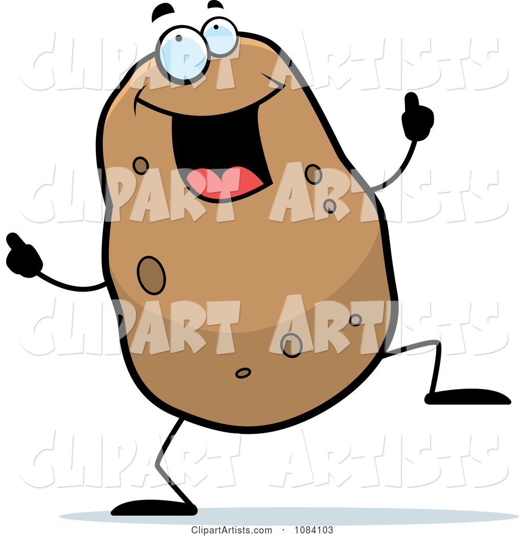 Dancing Potato Character