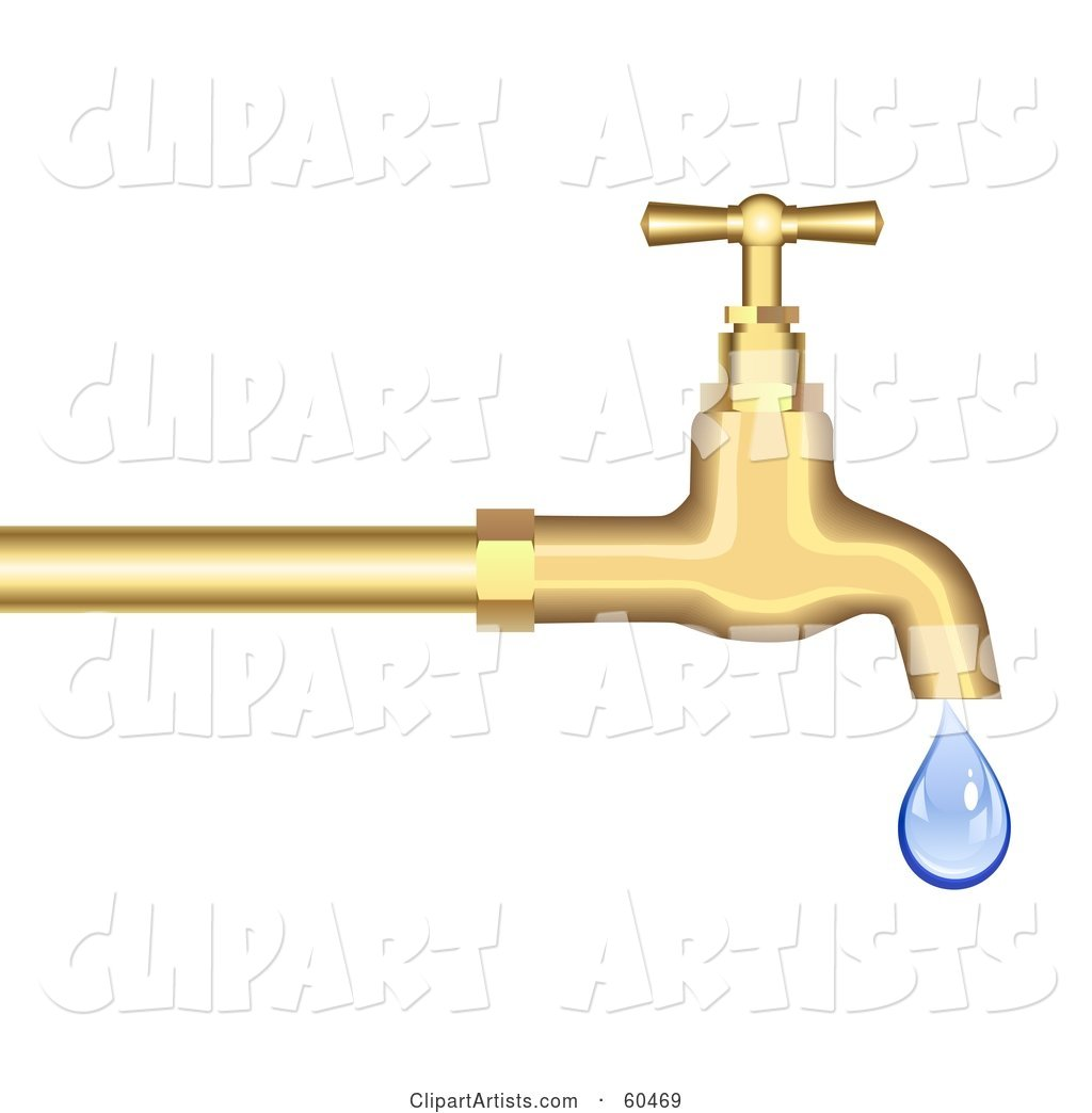 Dripping Gold Faucet