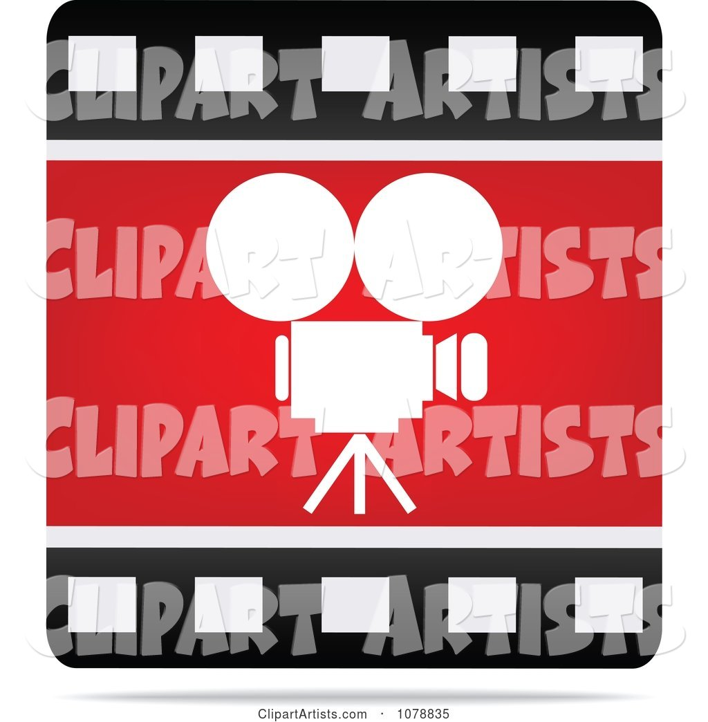 Film Strip Camera Cinema Icon
