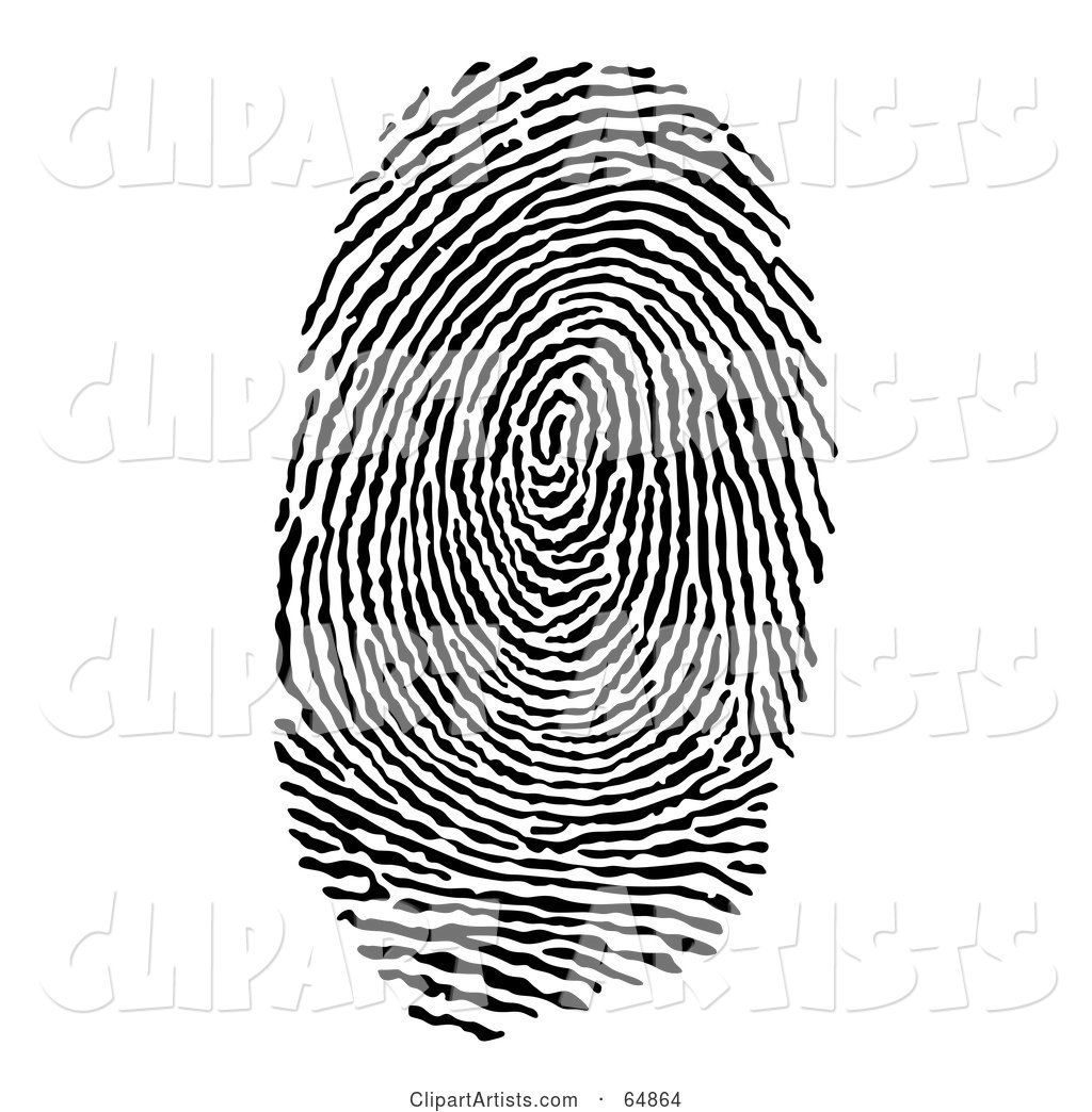 Finger or Thumb Print