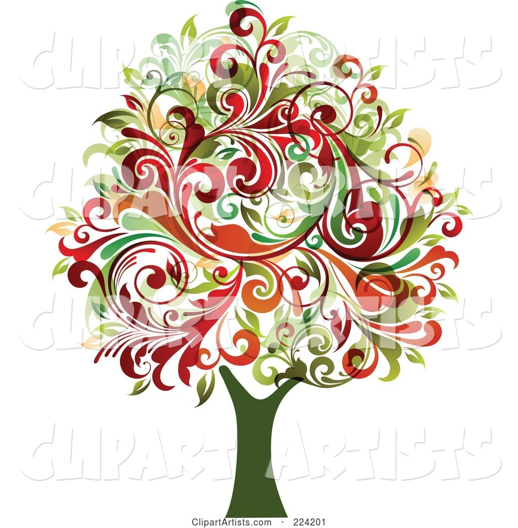 Flourish Foliage Tree