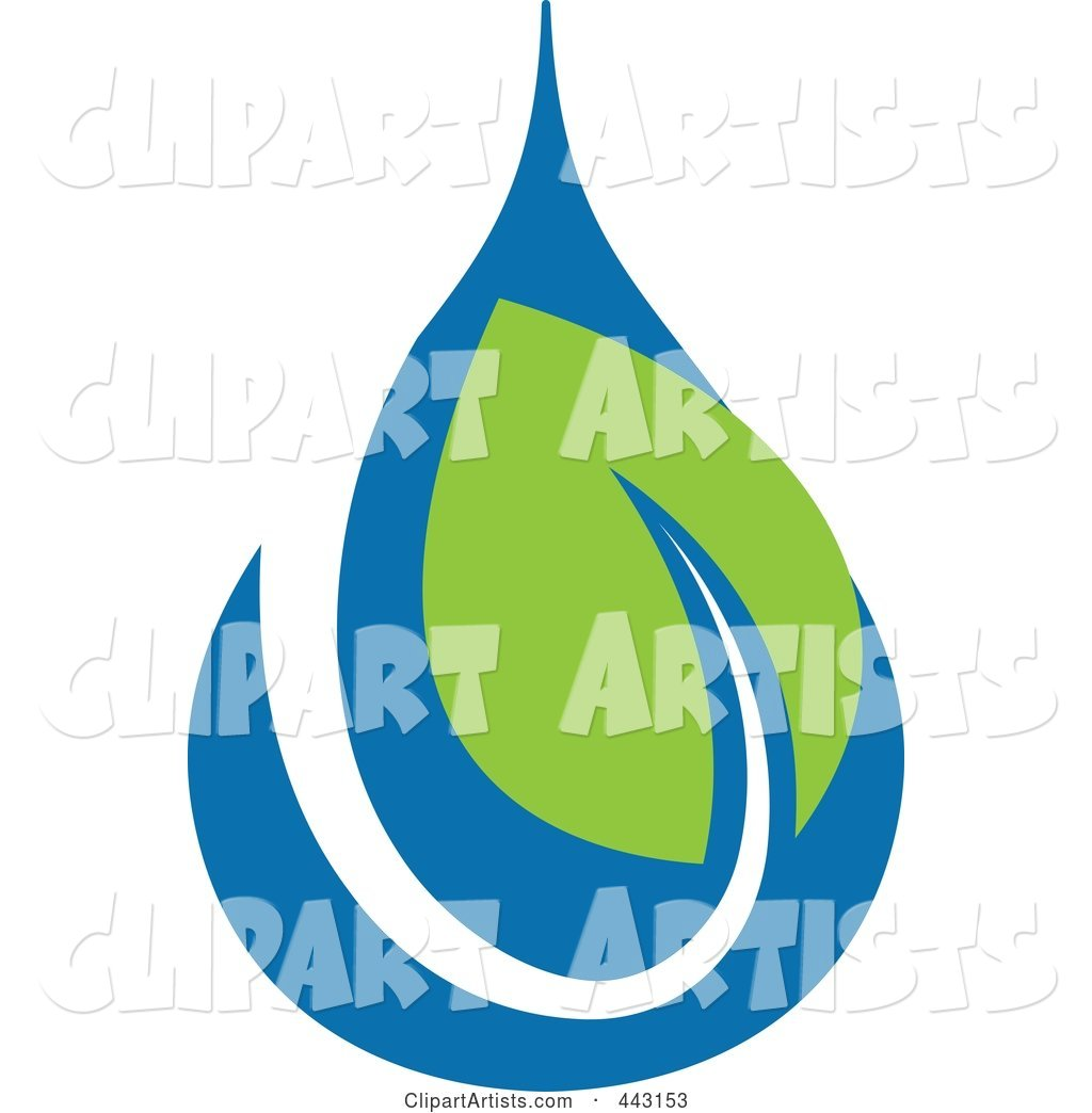 Green and Blue Ecology Logo Icon - 20