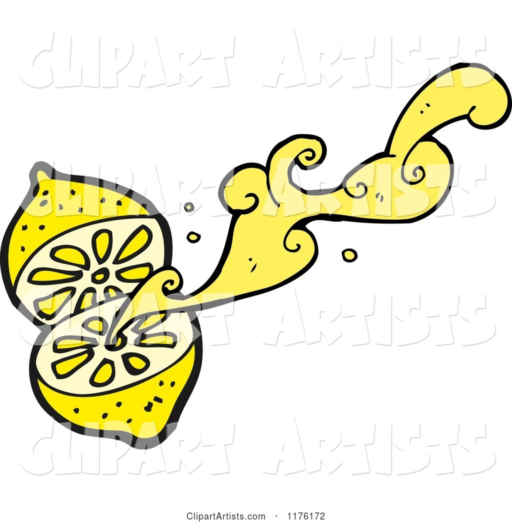 Lemon Squirting It's Juice