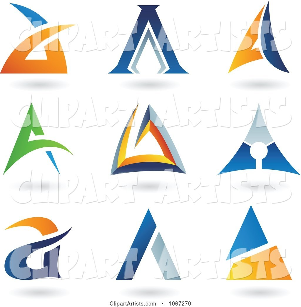 Letter a Logos