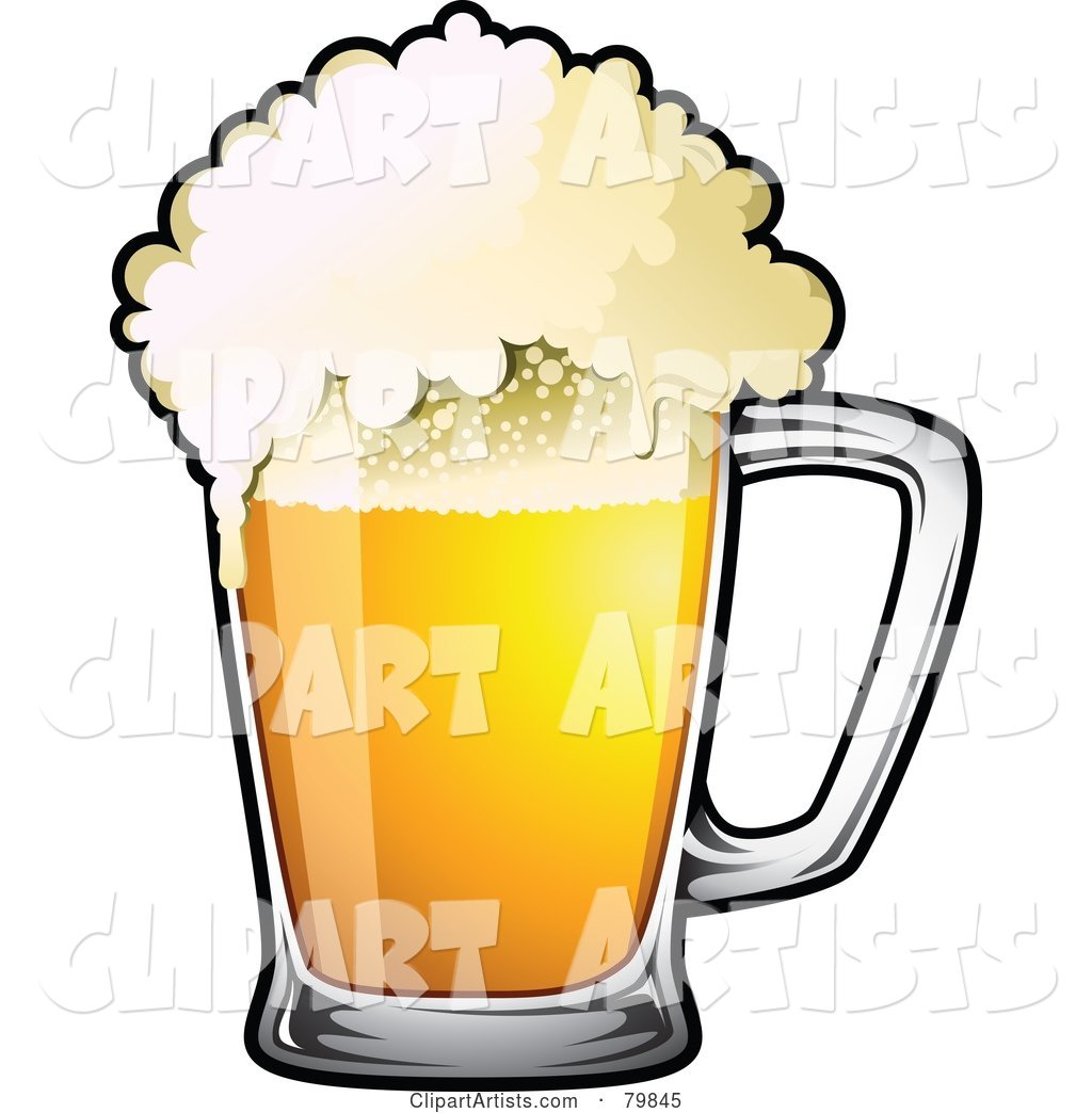 Mug of Frothy Drought Beer