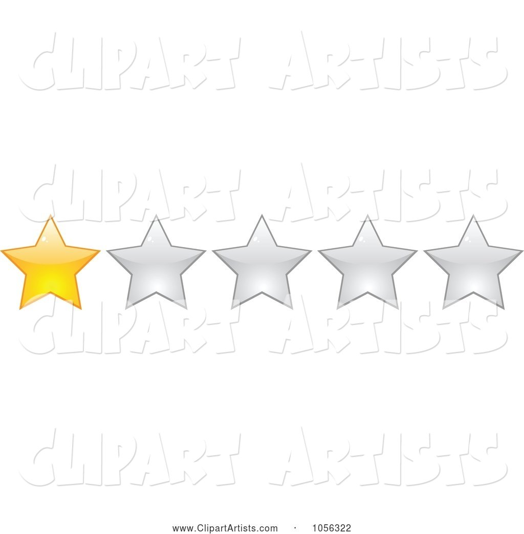 One Star Rating Border