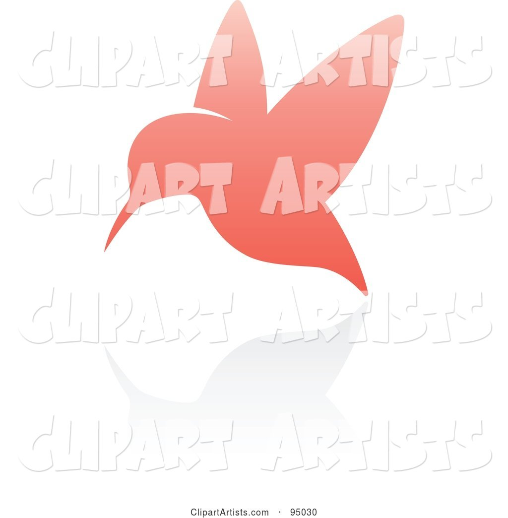 Pink Hummingbird Logo Design or App Icon - 3