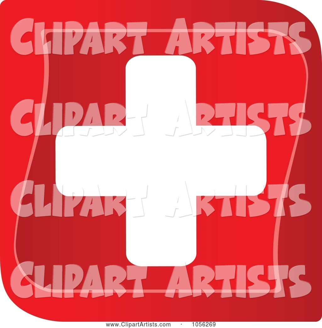 Red and White Medical Cross