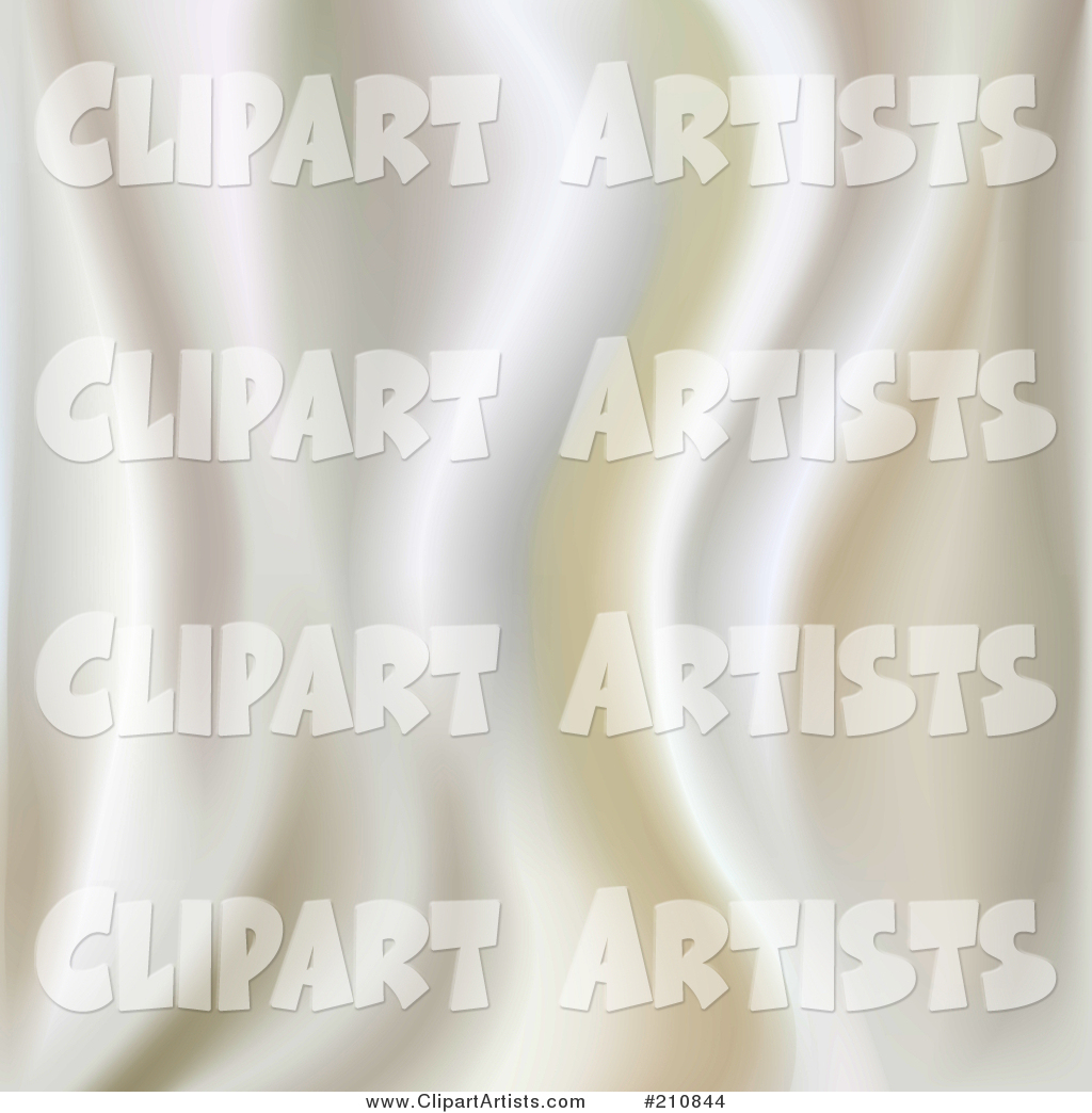 Ripply White Silk Texture Background
