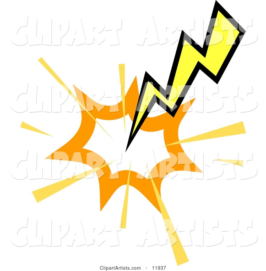 Striking Lightning Bolt