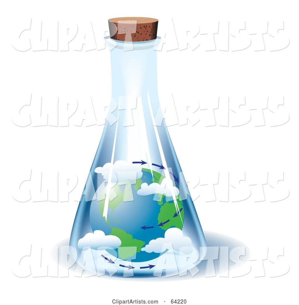 The Earth and Air Trapped in a Jar