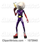 3d Alien Clipart by Ralf61