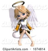 3d Angel Clipart by Ralf61