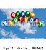 3d Balloons Clipart by Stockillustrations