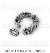 3d Chains Clipart by Stockillustrations