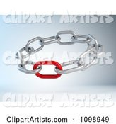 Weak or Strong Red Link in a Circle of Chains