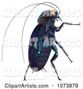 3d Cockroach Clipart by Ralf61