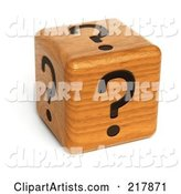 3d Dice Clipart by Stockillustrations