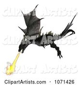3d Dragon Clipart by Ralf61