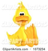 3d Duck Clipart by Ralf61