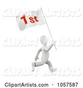 3d First Place Clipart by Chrisroll