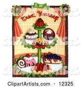 3d Food Clipart by Amy Vangsgard