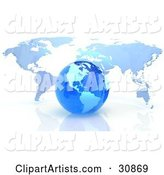 3d Globe Clipart by Tonis Pan