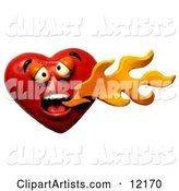 3d Heart Clipart by Amy Vangsgard