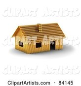 3d House Clipart by Stockillustrations