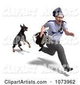 3d Mailman Clipart by Ralf61