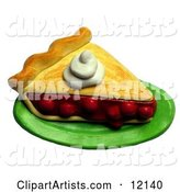 3d Pie Clipart by Amy Vangsgard