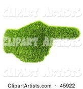 3d Pointing Clipart by Chrisroll