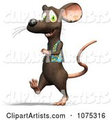 3d Rat Clipart by Ralf61