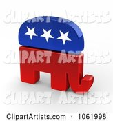 3d Republican Clipart by Stockillustrations