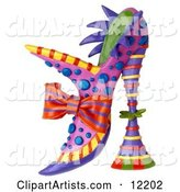 3d Shoe Clipart by Amy Vangsgard