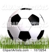 3d Soccer Clipart by Ralf61