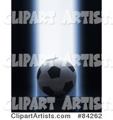 3d Soccer Clipart by Stockillustrations