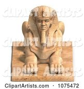 3d Sphinx Clipart by Ralf61