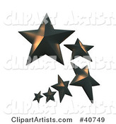 3d Star Clipart by Franck Boston
