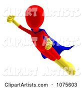 3d Super Hero Clipart by Ralf61
