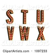 3d Theater Design Elements Clipart by Stockillustrations