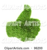 3d Thumbs up Clipart by Chrisroll